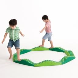 Weplay 波浪觸覺步道-綠光森林